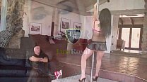 After a hot striptease Amy Starz gets creampied