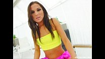 Ass Traffic Sunny gets reamed in the ass and de...
