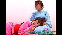 Japanese Asian Kimono Wearing Sluts Have Lesbian Sex porn videos