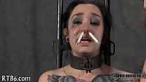 Hot torment for pleasing slaves