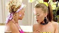 lovemaki lesbian hot some in engage mischelle and mya lila, hailee, hotties Four