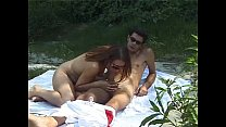 Sex outdoor for this beautiful couple porn videos
