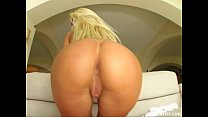 Ass Traffic Blonde penetrates her ass with toys and two dicks