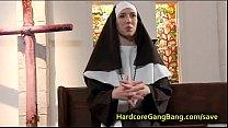Nun anal gangbanged by five priests porn videos
