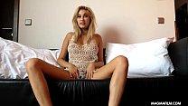 webcam blonde german gorgeous film Magma