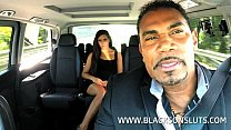cock big a by fucked gets brunette Spanish