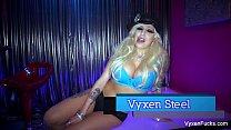 VyxenSteel gets fucked in her tight ass
