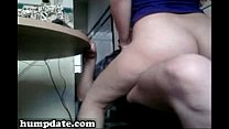 Wife with big ass gets analized