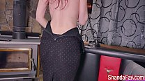 Shanda Fay Gets Fucked by Fuck Machine While on...