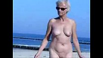 beach at naked totally granny cute this see Must
