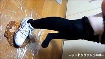 tai phim sex -xem phim sex \u3010fetish\u3011Japanese girl food crush with Knee hi...