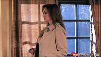 Busty MILF Julia Ann gets pounded and cummed on...