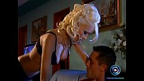 facial huge a with served blond nikky Glamorous