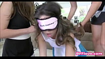 teen sorority lesbians have new pledge licking pussy bfflove.com