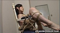 tai phim sex -xem phim sex Extreme bondage and dildo fuck for an Asian babe