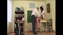 hot schoolgirl spanked by her dirty teacher