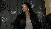 Victoria Blaze Takes a Massive Facial