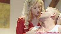 teen with cock shares stepmom Smalltitted