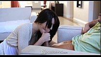 man her by fucked gets natalie brunette cute passion-hd - Hd