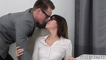 Young girl Katty Blessed fucked and cum on face