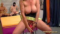 gangbang with extreme pierced stepmom