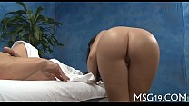 Sweetheart banged in a massage room