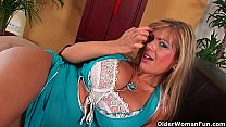 dildo a with herself fucks tits big with adele milf Gorgeous