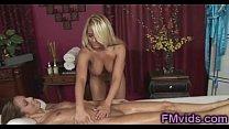 Busty Madison Ivy gives amazing massage