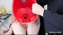 nasty sweetie was taken in anal hole asylum for uninhibited therapy