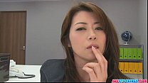 meeting office an during pussy her toying hojo kintele a porno