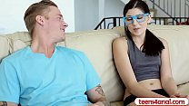 anal accepts but pure stay to wants glasses with teen Virgin