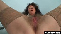 exam self pussy hairy extremly lady amateur Aged