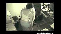 boss fucking her secretary   spy cam