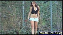 elizabeth d.   nude in public flashing hottie pt2