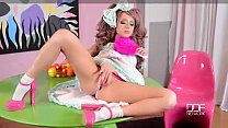 Manga Fantasy Petite Girl Fingering Herself Unt...