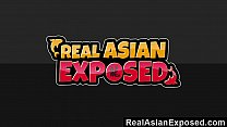 RealAsianExposed - Ariel Rose Gets Bent Over An...