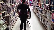 2 supermercado en culo enseña Nalgona