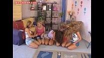 Teen Lesbian Orgy porn videos