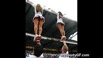 real teen cheerleaders