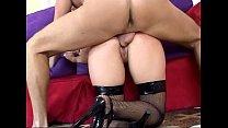 stockings fishnet in sex anal kinky has Blonde