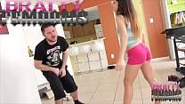 Alexa Divina's Ballbusting Fury with Jason Ninja