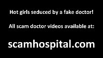horny doctor lets her sexy hot blonde patient ride his cock