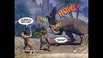 CRETACEOUS COCK 3D Gay Comic Story about Young ...