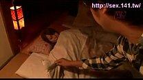 Japanese woman sleeping