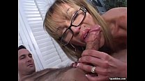 cigarette a smokes and blowjob a gives Mature