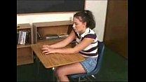 Dominant lesbian teacher gives a strapon lesson porn videos