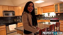 propertysex client finds out hot latina real estate agent is pornstar