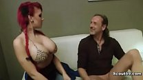 Step-dad seduce german redhead Teen for fucking