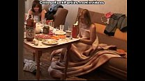 Nasty college fuck party with deep anal and pus...