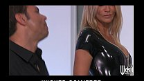 anal before outfit latex her of out strips drake Jessica